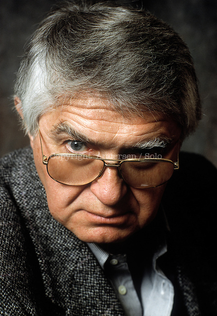 Miroslav Karaulac, Yugoslavian writer, in 1991.
