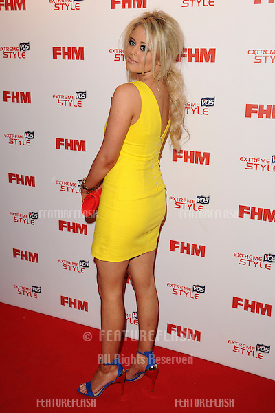 Emily Atack arriving for the FHM 100 Sexiest Women in the World 2013 party at the Sanderson Hotel, London. 01/05/2013 Picture by: Steve Vas / Featueflash