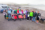 Waterville natives taking part in the walk for the Kerry Hospice on Good Friday.