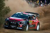 5th October 2017, Costa Daurada, Salou, Spain; FIA World Rally Championship, RallyRACC Catalunya, Spanish Rally; Stephane LEFEBVRE - Gabin MOEAU Citroen Total Abu Dhabi WRT during the shakedown