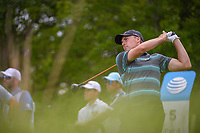 Jordan Spieth (USA) watches his tee shot on 5 during round 3 of the AT&amp;T Byron Nelson, Trinity Forest Golf Club, at Dallas, Texas, USA. 5/19/2018.<br /> Picture: Golffile | Ken Murray<br /> <br /> <br /> All photo usage must carry mandatory copyright credit (&copy; Golffile | Ken Murray)