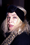 Sylvia Miles attends an opening on February 1, 1993 in New York City.