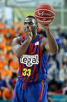 FC Barcelona Regal's Pete Mickeal during Liga Endesa ACB match.November 18,2012. (ALTERPHOTOS/Acero) /NortePhoto