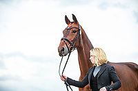 NZL-Megan Heath with Camelot during the First Horse Inspection. 2017 NED-Military Boekelo CCIO3* FEI Nation Cup Eventing. Wednesday 4 October. Copyright Photo: Libby Law Photography