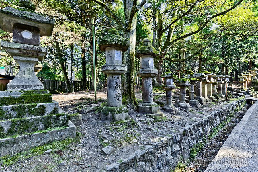 Lanterns Nara Japan
