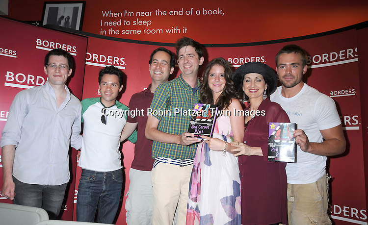 Chris Van Etten, Jason Tam, David Levithan, David Ozanich,Brittany Underwood,Robin Strasser and John-Paul Lavoisier