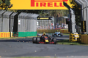 23rd March 2018, Melbourne Grand Prix Circuit, Melbourne, Australia; Melbourne Formula One Grand Prix, Friday free practice; Aston Martin Red Bull Racing TAG Heuer;  Max Verstappen