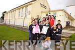 The Parents Association from Killury national school in Causeway are organising a clothing and mobile phone collection on November 13th to raise fudns for the school. Pictured were pupils Ciara Sayers, Cara Walshe, Marissa Hanly, Elisha Legg, Muirís Ó Hara, Lucas Conway, Brandon Long with parents Cathy Quilter, Louise and Conor Egan, Catherine Nelan, Claire Moriarty and Padraig Regan (principal).