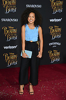 Sofia Wylie  at the premiere for Disney's &quot;Beauty and the Beast&quot; at El Capitan Theatre, Hollywood. Los Angeles, USA 02 March  2017<br /> Picture: Paul Smith/Featureflash/SilverHub 0208 004 5359 sales@silverhubmedia.com