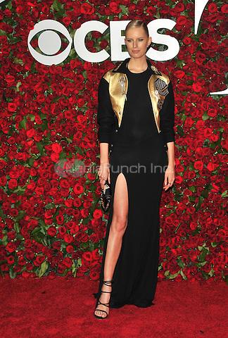 NEW YORK, NY - JUNE 12: Karolina Kurkova at the 70th Annual Tony Awards at The Beacon Theatre on June 12, 2016 in New York City. Credit: John Palmer/MediaPunch