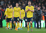 Arsenal's Sokratis Papastathopoulos looks dejected as he applauds the crowd after the Premier League match at Selhurst Park, London. Picture date: 11th January 2020. Picture credit should read: Paul Terry/Sportimage