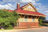 The Shortgrass Country Museum is located in the former Rock Island Railroad Depot in Sayer Oklahoma on Route 66.  The museum features various, changing displays pertaining to every facet of early-day life on the Shortgrass prairie.