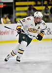 22 November 2011: University of Vermont Catamount forward H.T. Lenz, a Sophomore from Vienna, VA, in action against the University of Massachusetts Minutemen at Gutterson Fieldhouse in Burlington, Vermont. The Catamounts defeated the Minutemen 2-1 in their annual pre-Thanksgiving meeting of the Hockey East season. Mandatory Credit: Ed Wolfstein Photo