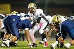 Lawndale, CA 10/21/11 - Matt Imwalle (Peninsula #17) in action during the Peninsula - Leuzinger varsity football game.