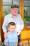 Jackie healy with Hugh Griffin, Tursillagh, Tralee (late John Thorney O'Shea) grandson..