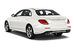 Car pictures of rear three quarter view of a 2019 Mercedes Benz E-class 300 4 Door Sedan angular rear