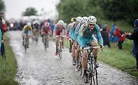 Jakob Fuglsang (DEN/Astana)<br /> <br /> 2014 Tour de France<br /> stage 5: Ypres/Ieper (BEL) - Arenberg Porte du Hainaut (155km)