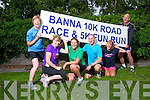 Ursula Barrett, Catherine Burke, Mags Hussey, Artur Nowak, Eileen Leen, and David McElligott launch the Banna 10K Road Race and 5K Fun Run on Sunday August 3rd at 9.30am.  Starting at the Sea Rescue Station
