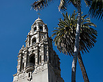 Tower above the Museum of Man in Balboa Park, San Diego California.