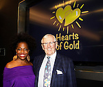 Rhonda Ross (Another World - singer) & Len Cariou (Blue Bloods) - 19th Annual HoG New York - Hearts of Gold Gala 2015 celebrating twenty-one years of support for New York City homeless mothers and their children founded by Deborah Koenigsberger  with co-mistresses of ceremonies - Soledad O'Brien, Rhonda Ross, Amy Carlson on November 5, 2015 at NASDAQ MarketSite, New York City, New York. (Photo by Sue Coflin/Max Photos)