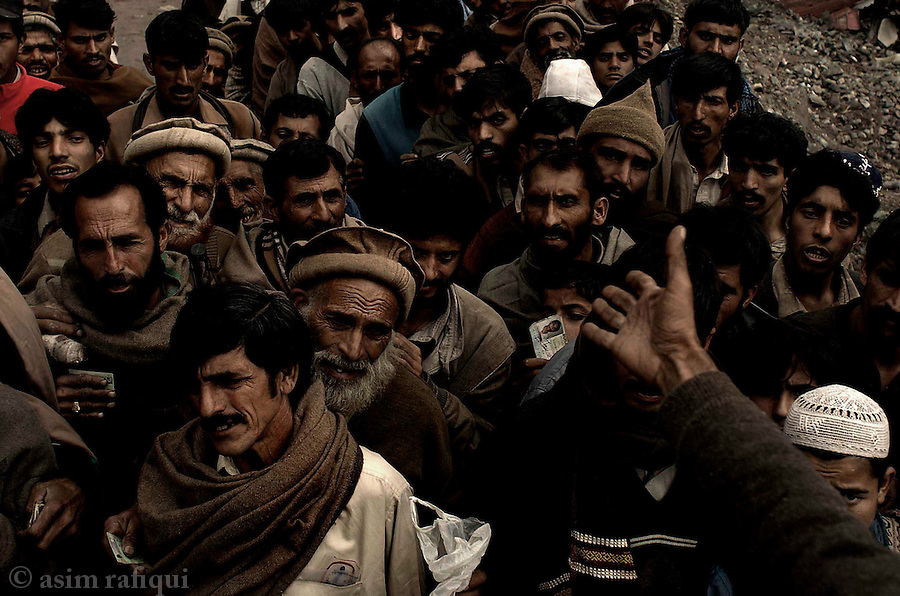 An air of desperation and anxiety pervades Pakistan?s northern areas and Kashmir.  The scars of the earthquake are as yet, if ever, to heel and the threat of the winter already approaches.  Suddenly life no longer seems to hold to a familiar pattern, nor the future what had been planned.  30 days after the earthquake disaster entire communities remain cut off from the country, possibly thousands of dead remain buried, medical needs remain unmet and millions are living in camps spread throughout the area.  The tenuousness of the situation exists despite a massive logistics and personnel deployment by the Pakistan Army, international NGOs, private charities and individuals.  A region known for its startling beauty has been left with what Salman Rushdie ?an awful majesty?.  The glorious mountains, the clear streams, the luminescent sky and vivid forests of Northern Pakistan are now mere garlands to a human tragedy, as they stand indifferent, and unaffected by the millions struggling to survive amidst it.<br />