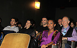 "cast members - Facundo Rodriguez, Sharon Washington and Gary Cowling  watch a private screening of Sebastian La Cause's web series ""Hustling"" Season Two - 'cause everybody got a hustle -  was held on November 19, 2012 at TriBeca's Cinemas, New York City, New York. (Photo by Sue Coflin/Max Photos)"
