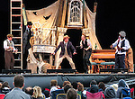 """Audience members watch """"Twelfth Night"""", performed by Chicago Shakespeare Theater during Shakespeare in the Park at Navy Pier Saturday, July 16, 2016. (DePaul University/Jamie Moncrief)"""