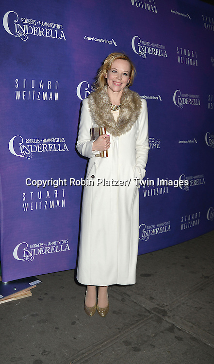 Emily Bergl attends Rogers +  Hammerstein's Cinderella Broadway Opening night on March 3, 2013 at the Broadway Theatre in New York City.