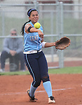 Centennial's Savannah Horvath makes a play during the NIAA 4A semi-final softball game in Reno, Nev. on Thursday, May 16, 2012. Reed won 5-4..Photo by Cathleen Allison