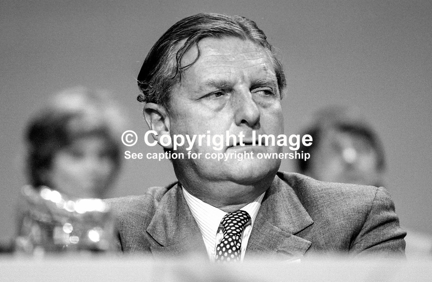 Sir Patrick Mayhew, MP, Conservative Party, UK, Solicitor General for England &amp; Wales, 19840145PM2.<br />