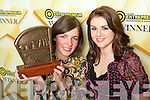 Neasa Fitzpatrick, Colaiste na Scelige, Cahersiveen, the 2008 Young Entrepreneur Winner at the Awards Ceremony held in the Malton Hotel, on Friday pictured here with Si?le Seoige.   Copyright Kerry's Eye 2008