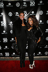 Jennifer Williams and Guest Attend Adrienne Bailon's 30th Birthday Celebration at Studio XXI, NY