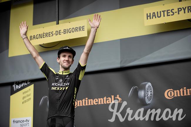 Simon Yates (GBR/Mitchelton-Scott) wins stage 12<br /> <br /> Stage 12: Toulouse to Bagnères-de-Bigorre(209km)<br /> 106th Tour de France 2019 (2.UWT)<br /> <br /> ©kramon
