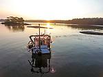 Rockweed Harvesting Boat
