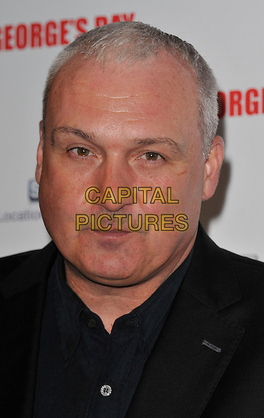 Frank Draper.The 'St George's Day' world film premiere, Odeon Covent Garden cinema, Shaftesbury Avenue, London, England..August 29th, 2012.headshot portrait black.CAP/WIZ.© Wizard/Capital Pictures.