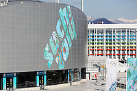 SOCHI, RUSSIA, 06.02.2014 - Movimentacao no Parque Olimpico de Sochi, durante os Jogos Olímpicos de Inverno de Sochi 2014, em Sochi na Russia nesta quinta-feira, 06. (Foto: Malte Christians / Pixathlon / Brazil Photo Press).