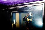 Atlanta rapper Future records tracks in the studio at 11th Street Studios in Atlanta, Georgia August 3, 2011.