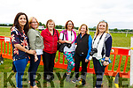 Enjoying the Castleisland Races on Sunday.L-r, Mary, Martina and Joan O'Donoghue, Annette O'Connor, Eileen and Koren O'Brien.