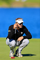 Joost Luiten (NED) during the first round of the Lyoness Open powered by Organic+ played at Diamond Country Club, Atzenbrugg, Austria. 8-11 June 2017.<br /> 08/06/2017.<br /> Picture: Golffile | Phil Inglis<br /> <br /> <br /> All photo usage must carry mandatory copyright credit (&copy; Golffile | Phil Inglis)