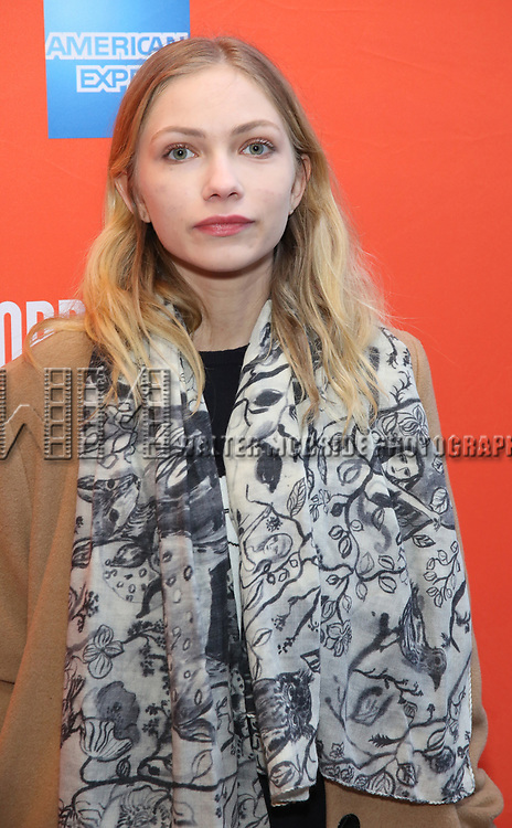 """Tavi Gevinson attending the Broadway Opening Night Performance of  """"Lobby Hero"""" at The Hayes Theatre on March 26, 2018 in New York City."""