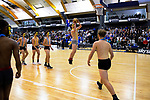 Halftime entertainment during the 2019 Schick AA Boys' Secondary Schools Basketball National Championship final between St Kentigern and Rosmini College at the Central Energy Trust Arena in Palmerston North, New Zealand on Saturday, 5 October 2019. Photo: Dave Lintott / lintottphoto.co.nz