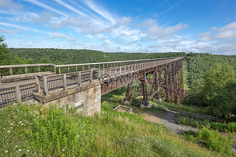 KINZUA VIADUCT SKYWALK MOUNT JEWETT MCKEAN COUNTY PENNSYLVANIA USA