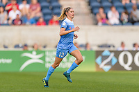 Bridgeview, IL - Sunday September 03, 2017: Morgan Brian during a regular season National Women's Soccer League (NWSL) match between the Chicago Red Stars and the North Carolina Courage at Toyota Park. The Red Stars won 2-1.