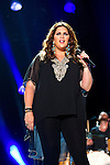 Hillary Scott of Lady Antebellum performs at LP Field during Day 2 of the 2013 CMA Music Festival in Nashville, Tennessee.