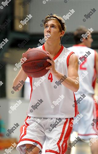 2013-08-15 / Basketbal / seizoen 2013-2014 / Soba Basket Antwerpen / Axel Ibens<br /><br />Foto: Mpics.be
