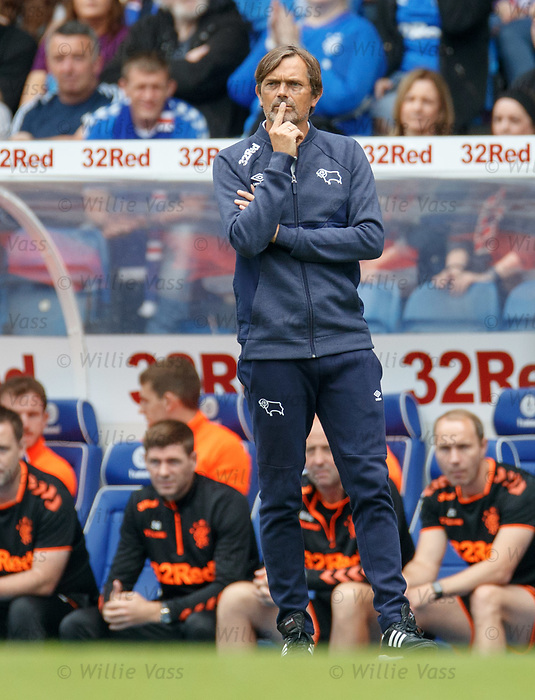 28.07.2019 Rangers v Derby County: Phillip Cocu