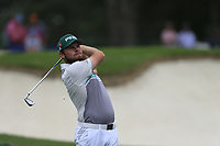 Tyrrell Hatton (ENG) on the 3rd tee during the final round at the The Masters , Augusta National, Augusta, Georgia, USA. 14/04/2019.<br /> Picture Fran Caffrey / Golffile.ie<br /> <br /> All photo usage must carry mandatory copyright credit (© Golffile | Fran Caffrey)