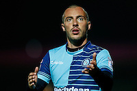 Michael Harriman of Wycombe Wanderers during the The Checkatrade Trophy match between Wycombe Wanderers and West Ham United U21 at Adams Park, High Wycombe, England on 4 October 2016. Photo by David Horn.