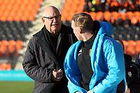 Barnet manager John Still and Maidstone United manager Harry Wheeler during Barnet vs Maidstone United , Vanarama National League Football at the Hive Stadium on 3rd November 2018