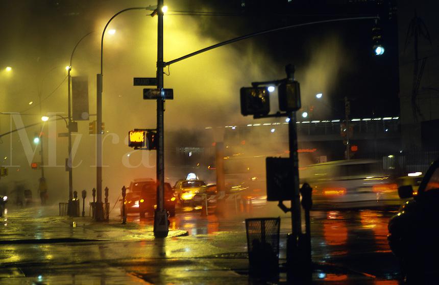 Night impression, NYC